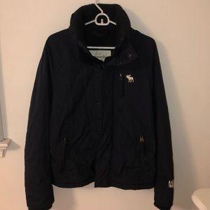 Abercrombie Navy Winter Jacket